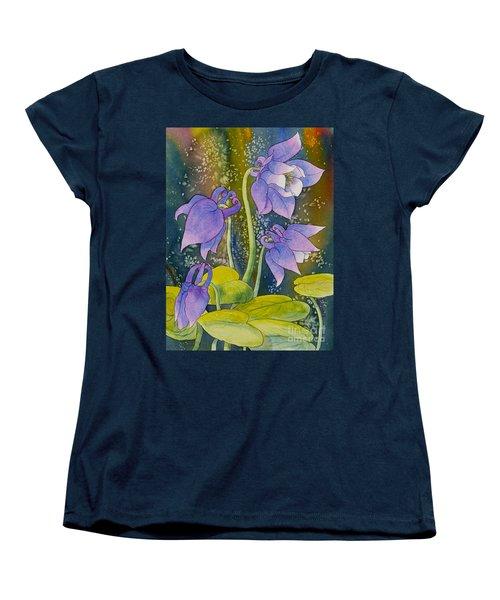 Columbine Women's T-Shirt (Standard Cut) by Teresa Ascone