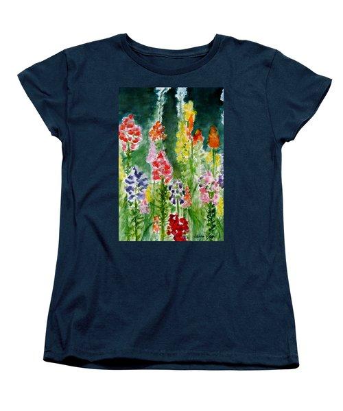 Donna's Snaps Women's T-Shirt (Standard Cut) by Jamie Frier