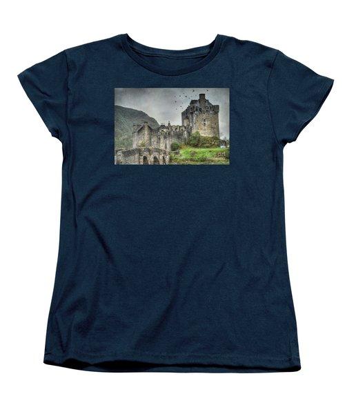 Eilean Donan Castle Women's T-Shirt (Standard Cut) by Juli Scalzi