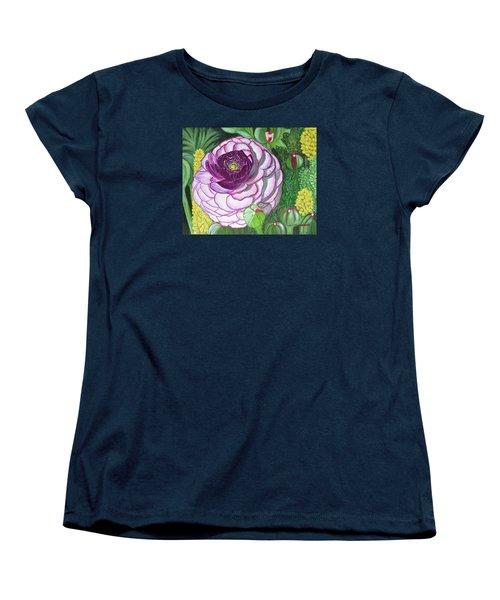 Garnet Punch Women's T-Shirt (Standard Cut) by Donna  Manaraze