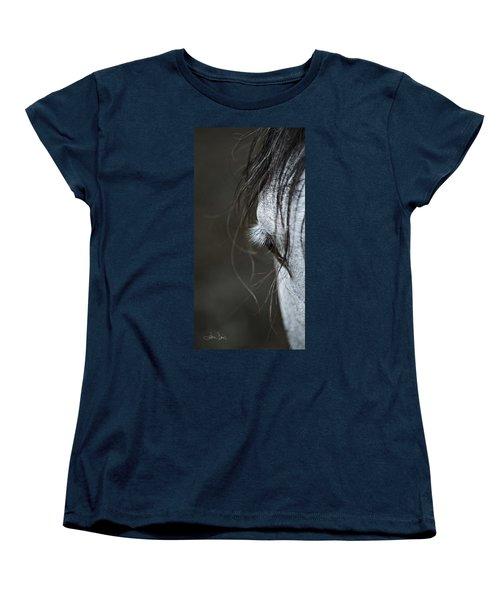 Women's T-Shirt (Standard Cut) featuring the photograph Gracie by Joan Davis
