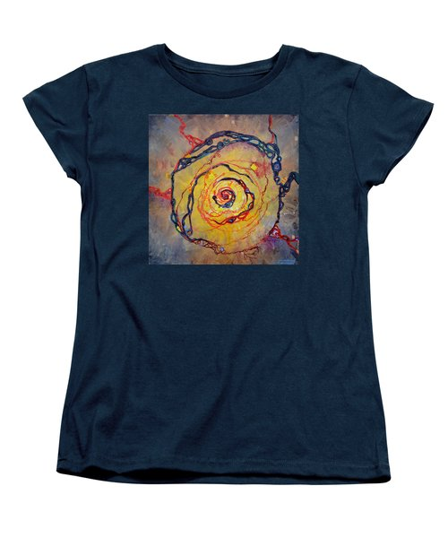 Growth Pattern Women's T-Shirt (Standard Cut) by Regina Valluzzi