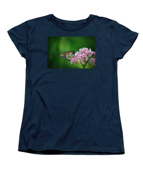 Monarch In Light  Women's T-Shirt (Standard Cut) by Neal Eslinger