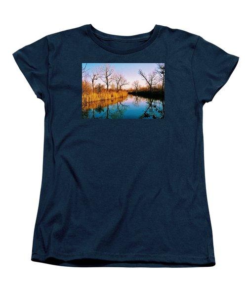 November Women's T-Shirt (Standard Cut) by Daniel Thompson
