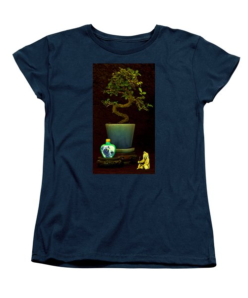 Old Man And The Tree Women's T-Shirt (Standard Cut) by Elf Evans