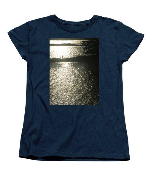 2 At The Beach Women's T-Shirt (Standard Cut) by Mark Alan Perry