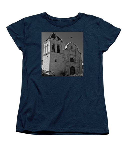 Women's T-Shirt (Standard Cut) featuring the photograph San Carlos Cathedral by Ron White