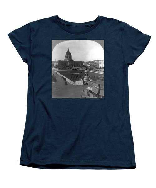 Women's T-Shirt (Standard Cut) featuring the photograph San Francisco City Hall by Granger