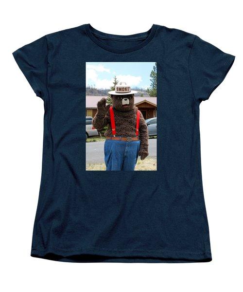 Smokey The Bear Women's T-Shirt (Standard Cut)