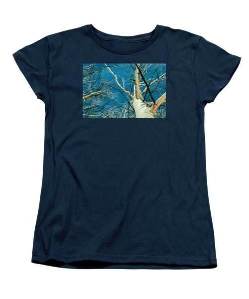 Women's T-Shirt (Standard Cut) featuring the painting Standing Ovation 2 by Barbara Jewell