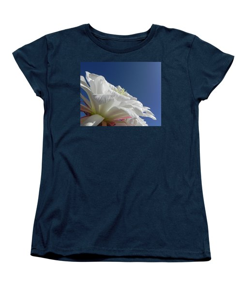 Women's T-Shirt (Standard Cut) featuring the photograph Striking Contrast by Deb Halloran