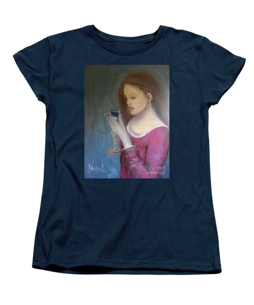 The Chalice Women's T-Shirt (Standard Cut) by Laurie L