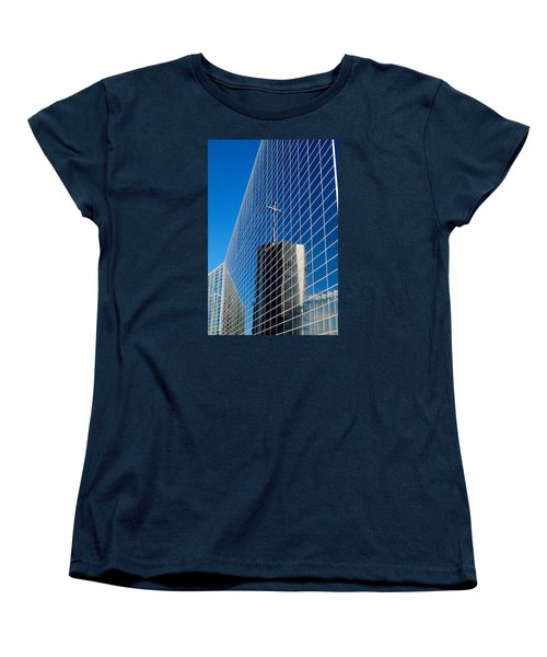 Women's T-Shirt (Standard Cut) featuring the photograph The Crystal Cathedral by Duncan Selby