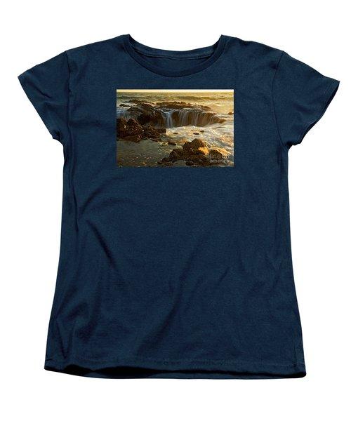 Thor's Well Women's T-Shirt (Standard Cut) by Nick  Boren