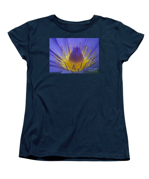 Women's T-Shirt (Standard Cut) featuring the photograph Tropic Water Lily 16 by Rudi Prott