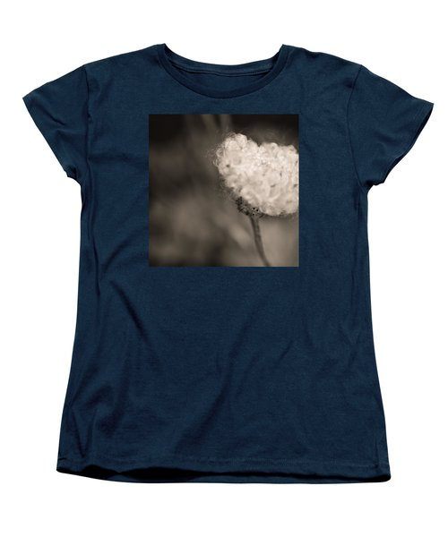Women's T-Shirt (Standard Cut) featuring the photograph White Whisper by Sara Frank