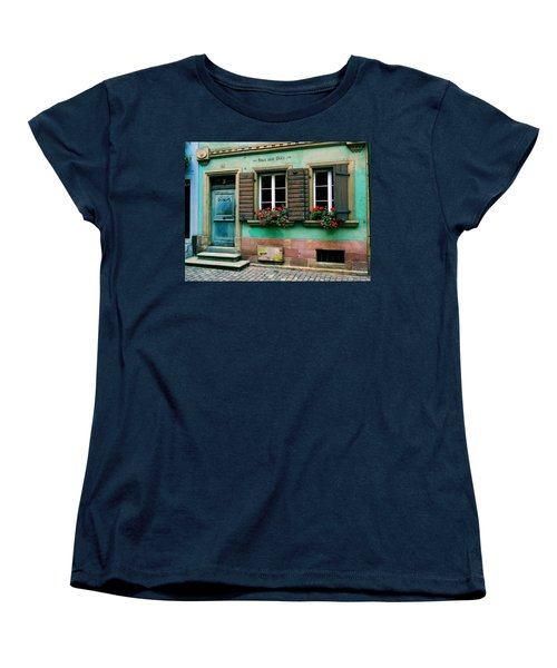 Women's T-Shirt (Standard Cut) featuring the photograph Windows And Doors 6 by Maria Huntley