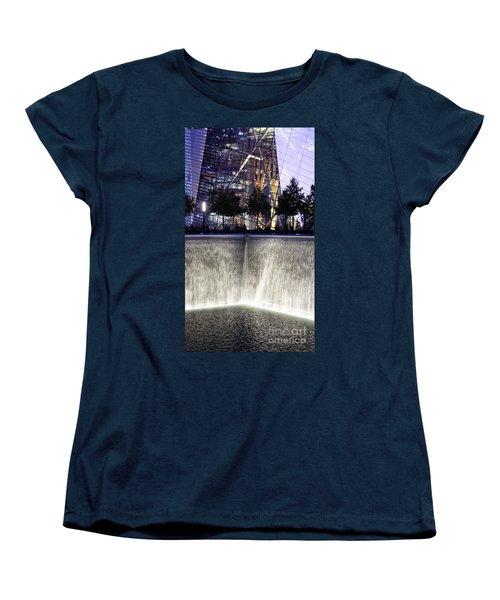 World Trade Center Museum Women's T-Shirt (Standard Cut) by Lilliana Mendez
