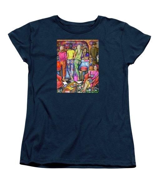 Shop Talk Women's T-Shirt (Standard Cut)