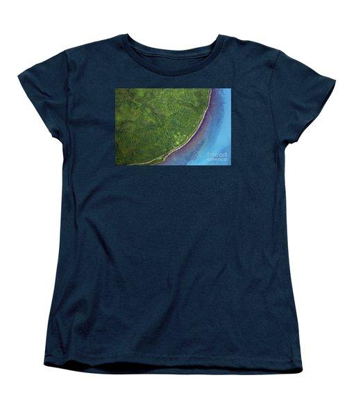Iceland Aerial Photo Women's T-Shirt (Standard Cut) by Gunnar Orn Arnason