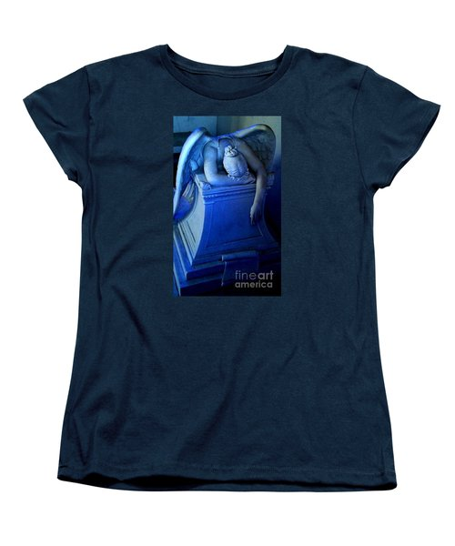 Women's T-Shirt (Standard Cut) featuring the photograph Angelic Sorrow by Michael Hoard