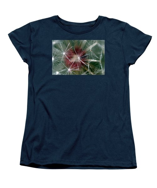 Women's T-Shirt (Standard Cut) featuring the photograph Dandelion Seed Head by Henrik Lehnerer