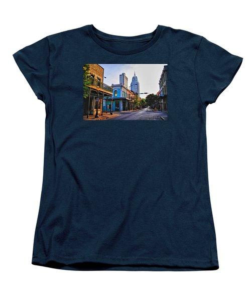 3 Georges Women's T-Shirt (Standard Cut) by Michael Thomas