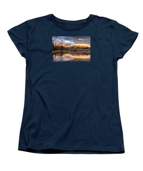 Golden Sunrise Women's T-Shirt (Standard Cut) by Robert Bales