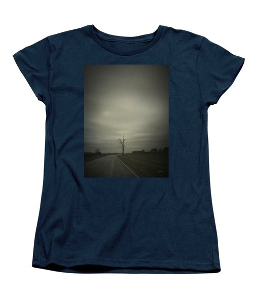 Women's T-Shirt (Standard Cut) featuring the photograph The Journey by Cynthia Lassiter