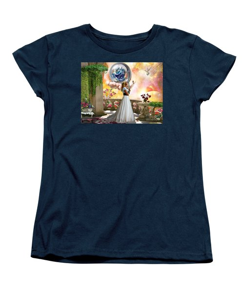 Warrior Bride Women's T-Shirt (Standard Cut) by Dolores Develde