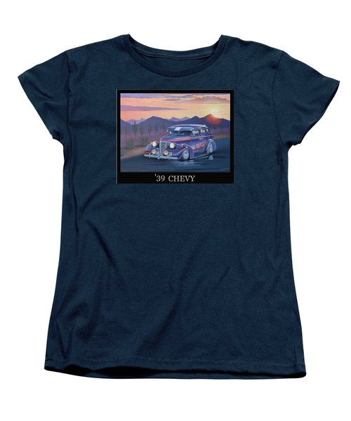 '39 Chevy Women's T-Shirt (Standard Cut) by Stuart Swartz