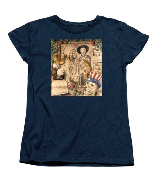 Broken Promises Women's T-Shirt (Standard Cut) by Rich Milo