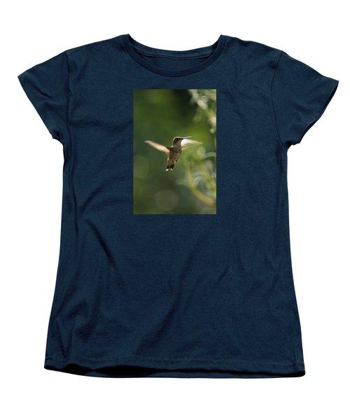 Women's T-Shirt (Standard Cut) featuring the photograph Hummer by Heidi Poulin
