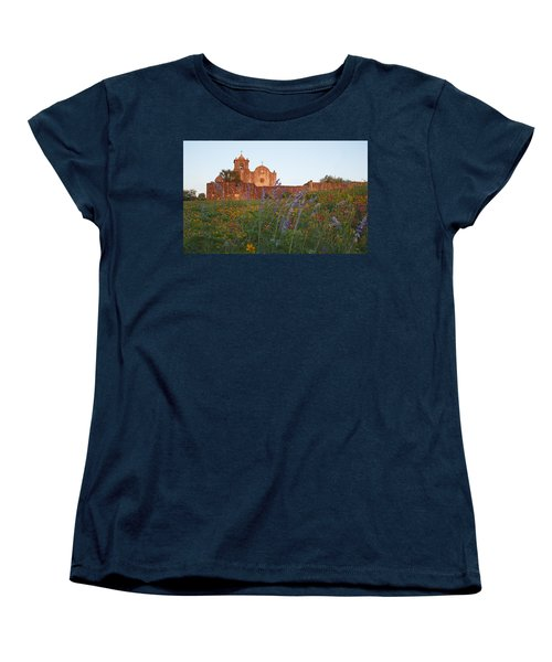 Women's T-Shirt (Standard Cut) featuring the photograph Presidio La Bahia 2 by Susan Rovira