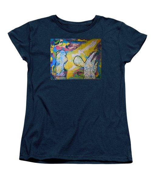 The Annunciation Women's T-Shirt (Standard Cut) by Gloria Ssali