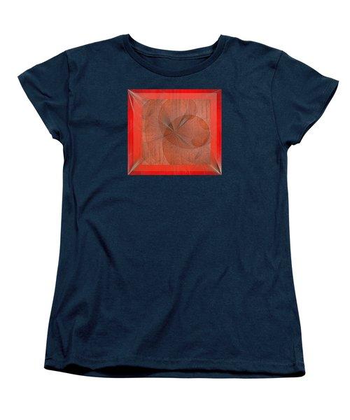 Women's T-Shirt (Standard Cut) featuring the digital art Wonder by Iris Gelbart