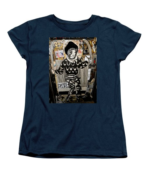 Women's T-Shirt (Standard Cut) featuring the photograph 4th St. Door by Joan Reese
