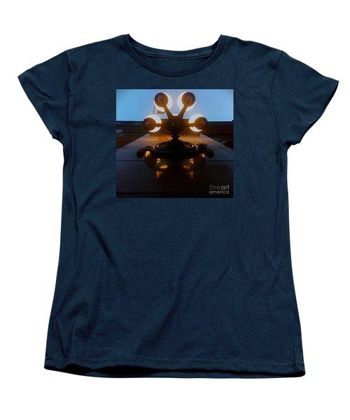 Women's T-Shirt (Standard Cut) featuring the photograph 5 Points Of Light by James Aiken