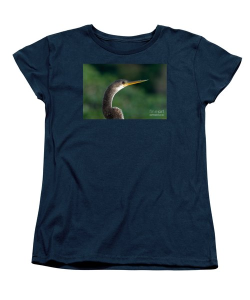 Anhinga Women's T-Shirt (Standard Cut) by Mark Newman