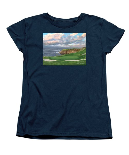 8th Hole Pebble Beach Women's T-Shirt (Standard Cut)
