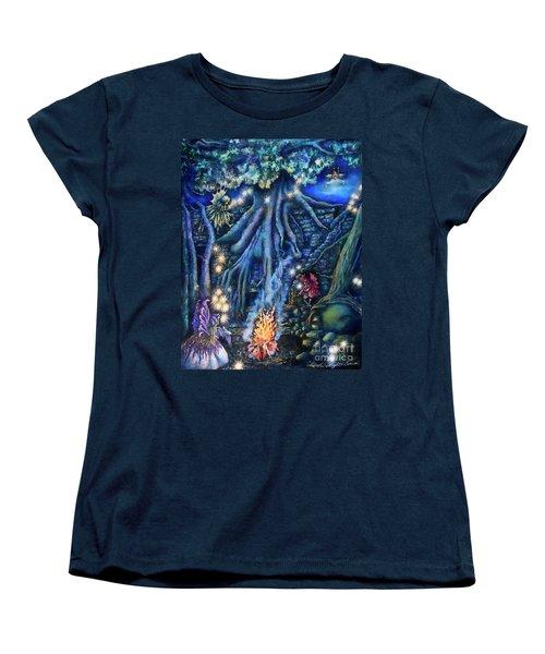 Flutter Flies Women's T-Shirt (Standard Cut)