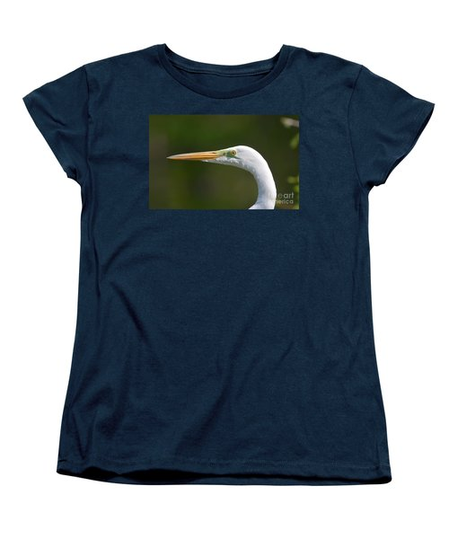 Women's T-Shirt (Standard Cut) featuring the photograph A Beautiful Face by Kathy Baccari