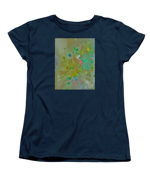 Women's T-Shirt (Standard Cut) featuring the photograph A Bird In Flight by Robin Coaker