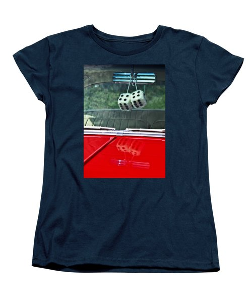 A Bit Dicey Women's T-Shirt (Standard Cut) by Mark Alder