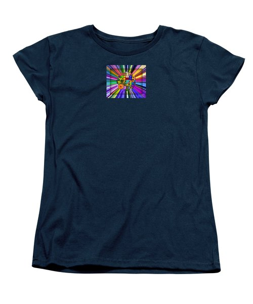 Women's T-Shirt (Standard Cut) featuring the photograph A Burst Of Flowers by Janice Westerberg