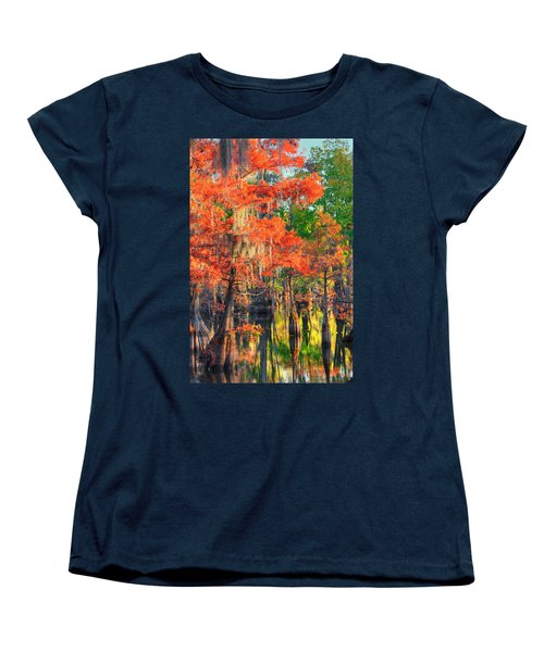 A Change Of Colors Women's T-Shirt (Standard Cut) by Ester  Rogers
