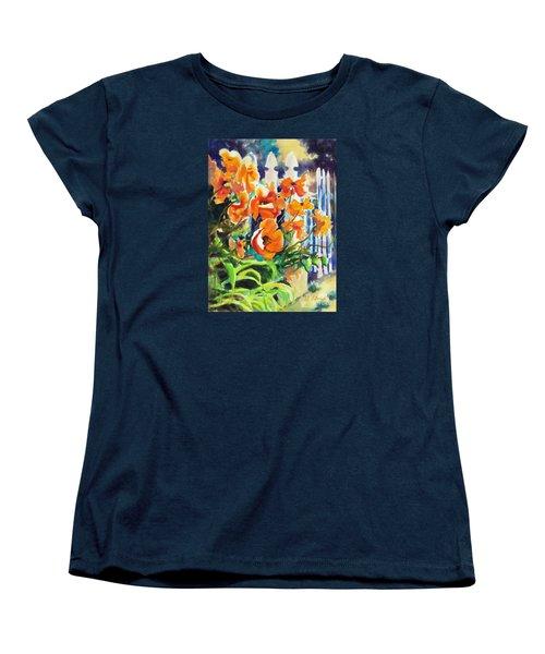 A Choir Of Poppies Women's T-Shirt (Standard Cut) by Kathy Braud