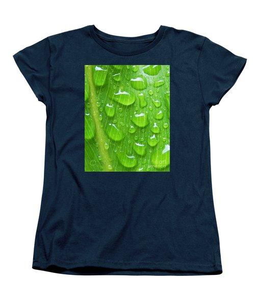 Women's T-Shirt (Standard Cut) featuring the photograph A Cleansing Morning Rain by Robert ONeil