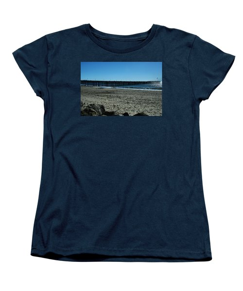 Women's T-Shirt (Standard Cut) featuring the photograph A Day At The Beach by Michael Gordon