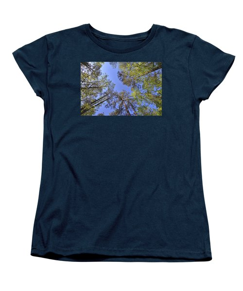 A Forest Sky Women's T-Shirt (Standard Cut)